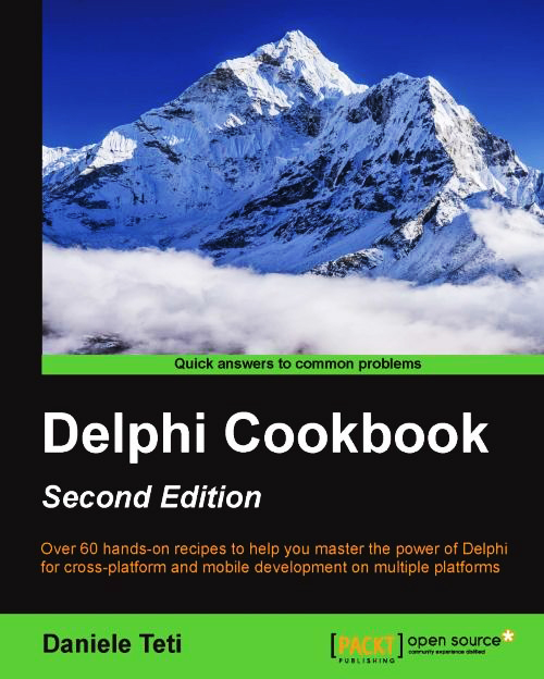 Copertina di Delphi Cookbook Second Edition