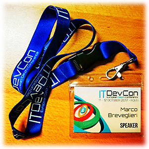 Badge di ITDevCon